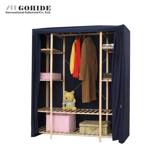 Gohide 154 см Двойной Шкаф Экологичный Хранения Шкаф 755f Мебель Шкафы С Простой Шкафы Для Спальни