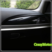 For BMW 2 Series Coupe F22 2014 2017 / 1 series F20 12 17 LHD Inner co pilot Storage Box strip decorative cover trim
