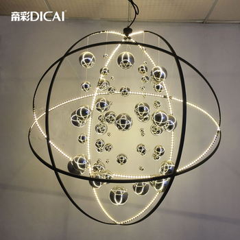 Nuovo Loft Uiverse Palla HA CONDOTTO LA Lampada Da Soffitto Moderno Cafe Negozio Bar DropLight lampada a Sospensione Cafe Sala da pranzo Dell'hotel Sala Ristorante di Illuminazione