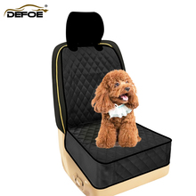New design Car pet pad car dog cushion mats waterproof with safety belt clasp rope
