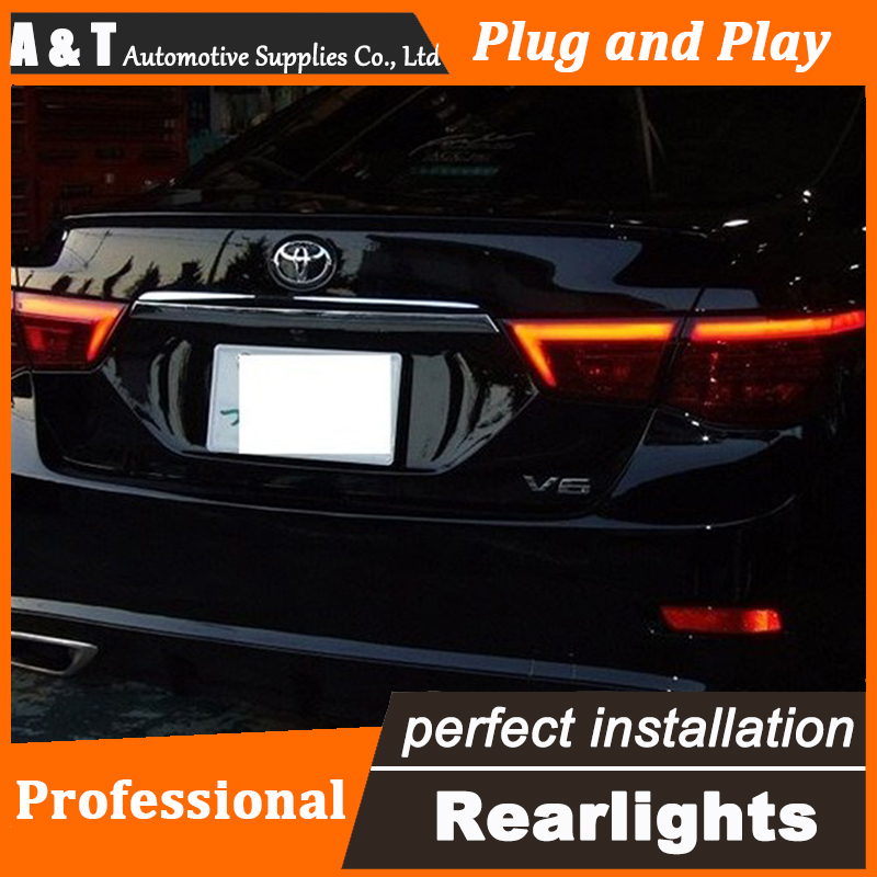 Car Styling LED Tail Lamp for Toyota Reiz Mark X LED Taillights 2012 Rear Light DRL+Turn Signal+Brake+Reverse auto Accessories high quality car styling 35w led car tail light for toyota highlander 2015 tail lamp drl signal brake reverse lamp