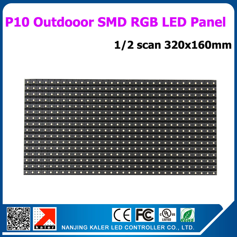 TEEHO P10 Outdoor RGB LED Panel 3in1 SMD Outdoor P10 LED Modules 320*160mm 32*16 pixels RGB full color SMD P10 LED moduleTEEHO P10 Outdoor RGB LED Panel 3in1 SMD Outdoor P10 LED Modules 320*160mm 32*16 pixels RGB full color SMD P10 LED module