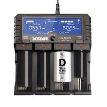 XTAR Дракон VP4 VP4 плюс Смарт Батарея S Зарядное устройство набор с сумкой зонды адаптера и автомобилей Зарядное устройство для 18650 AA AAA и Батарея pack и т. д.
