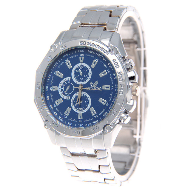 US $3 84 20% OFF|New Quartz watches men Luxury Brand ORLANDO Colors  Stainless Steel Business clock gentlemen casual and fashion wristwatch-in  Quartz
