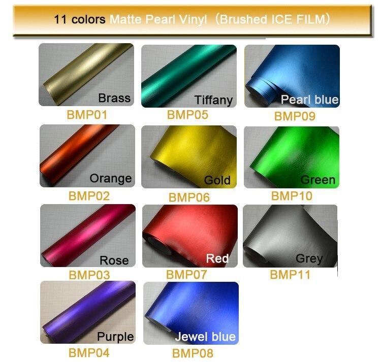 1,52x20 м воздушные пузыри оранжевый цвет матовый жемчуг углеродного волокна виниловая обертка