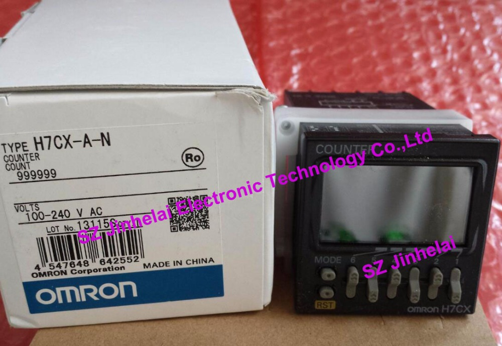 все цены на New and original H7CX-A-N OMRON Count relay 100-240VAC Digital display counter