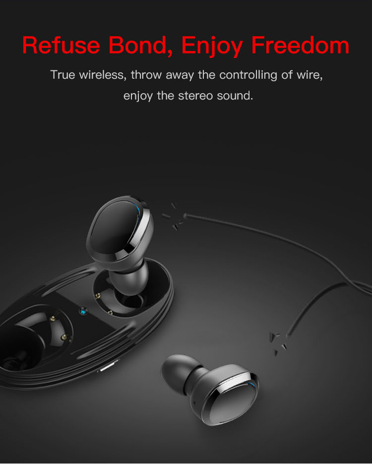 Original T12 Dual TWS True Wireless Bluetooth Headphones In-ear Stereo Music Headsets Invisible Earphone Hands-free Microphone_06