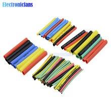 1set 328Pcs Polyolefin Auto Elektrische Kabel Rohr kits Schrumpf Schlauch Schläuche Sleeve Wrap Draht Assorted 8 Größen mixed Farbe
