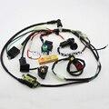 Electricidad completo Arnés de Cableado Loom Regulador de Bobina CDI 50c 70cc 110cc 125cc Dirt Pit Bike Trail