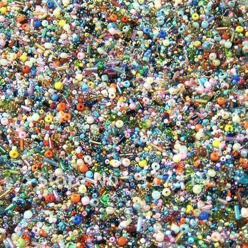 Free shipping/500Gram Multicolor Glass Seed Beads,Jewelry Making/fashion diy jewelry