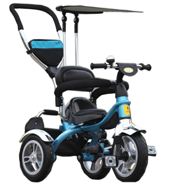 Baby Tricycle Trolley Geniune New Arrive Good Quality Baby Child Stroller Baby Carriage Bike Bicycle For 6 Month--6 Years Old