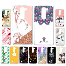 Ojeleye DIY Patterned Silicon Case For LG Optimus G4 Mini Soft TPU Cartoon Cover Magna C90Y90 Anti-knock Shell