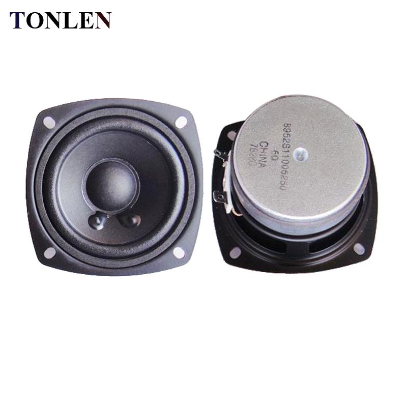 US $30 8 |TONLEN 2PCS 3 inch Full Range Speaker 6 ohm 10 W HIFI portable  audio Speakers DIY Wireless Bluetooth Speaker Horn Sound Box-in Portable