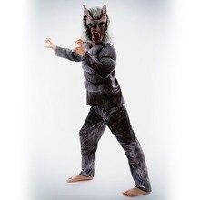 цена Variational Werewolf Super Horror 3D Digital Print Invisibility Cloak Fantasy Comic Movie Carnival Party Purim Halloween в интернет-магазинах