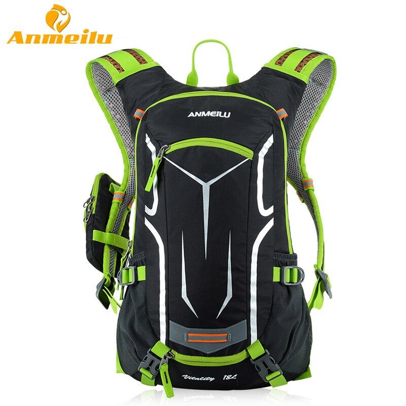 ANMEILU 18L Impermeable Mochila de Camping + Bolsa de Agua 2L Vejiga Deportes Al