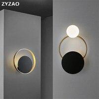Nordic pós moderno conduziu a luz de parede quarto de cabeceira luz do banheiro wandlamp escadas corredor casa deco industrial lâmpada de parede do vintage|Luminárias de parede|Luzes e Iluminação -