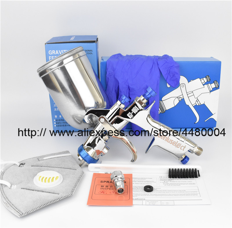 W101 Spray Gun W 101 air spray gun hand manual spray gun 1 0 1 3