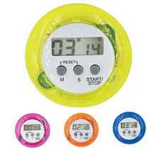Cute Mini LCD display Digital Round Cooking Home Kitchen Alarm Selling Countdown Timer Count Down Up 40% Off(China)