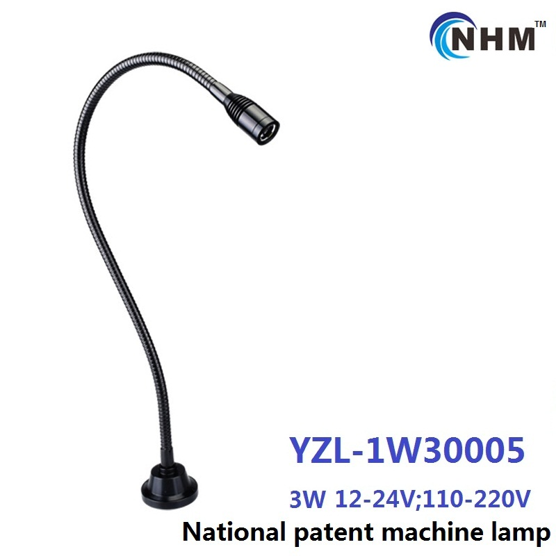 3W 110V 220V aluminium Flexible arm industrial task work