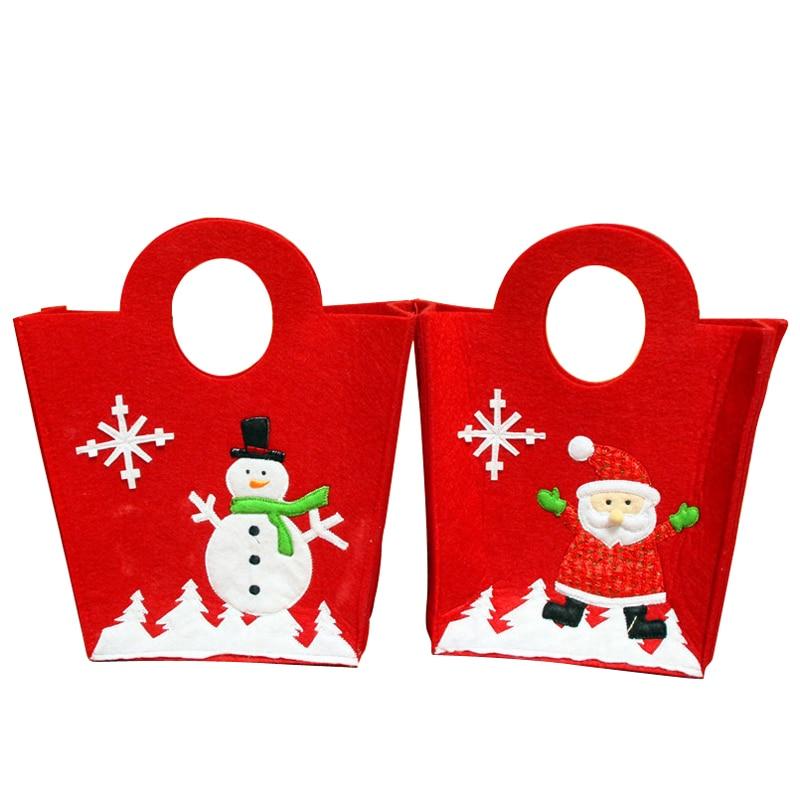 Stickerei Weihnachtsmann Schneemann Flasche Wein Handtaschen ...
