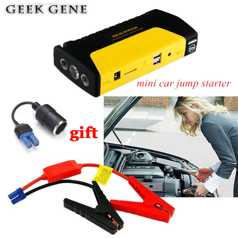 Mini Auto Starthilfe Tragbare 12 v Notfall Start Gerät Power Bank Auto Ladegerät Für Auto Batterie Booster Buster Diesel auto