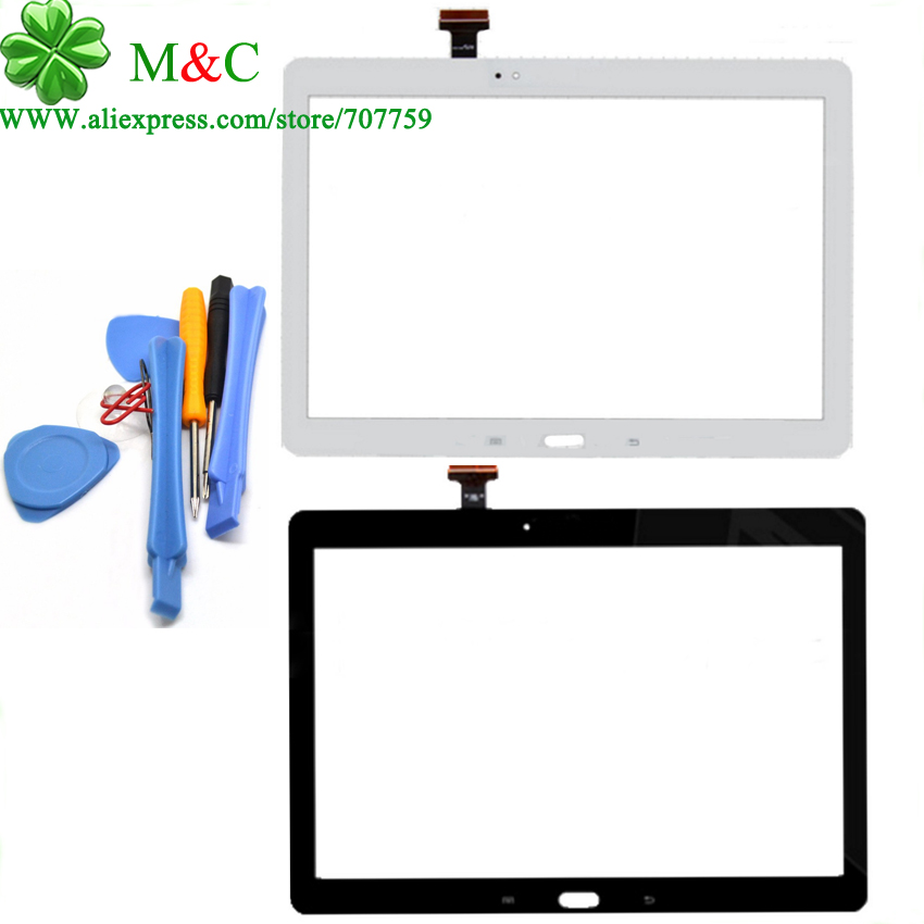 OEM P600 Touch Panel For Samsung Galaxy Note 10.1 P600 P601 Touch Screen Digitizer Panel New With Tools Free Tracking