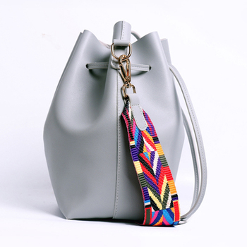 AiiaBestProducts Women Strap Bucket Bag 2