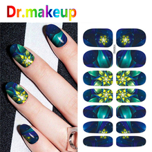 1 Sheet Flower Nail Art Water Transfer Stickers Full Cover Colorful Painting Style Nail Art Slider for Manicure Decoration DIY все цены