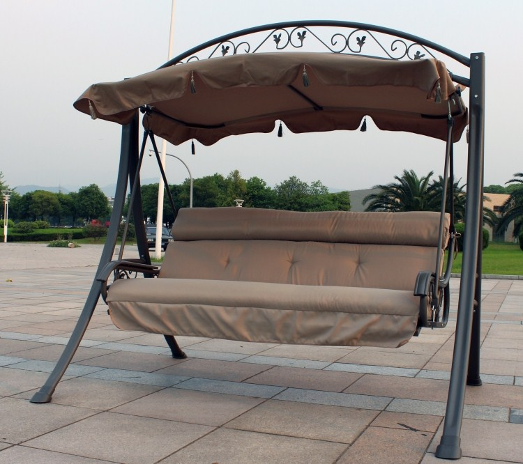 Luxury double swing rocking chair outdoor products hanging chair ...