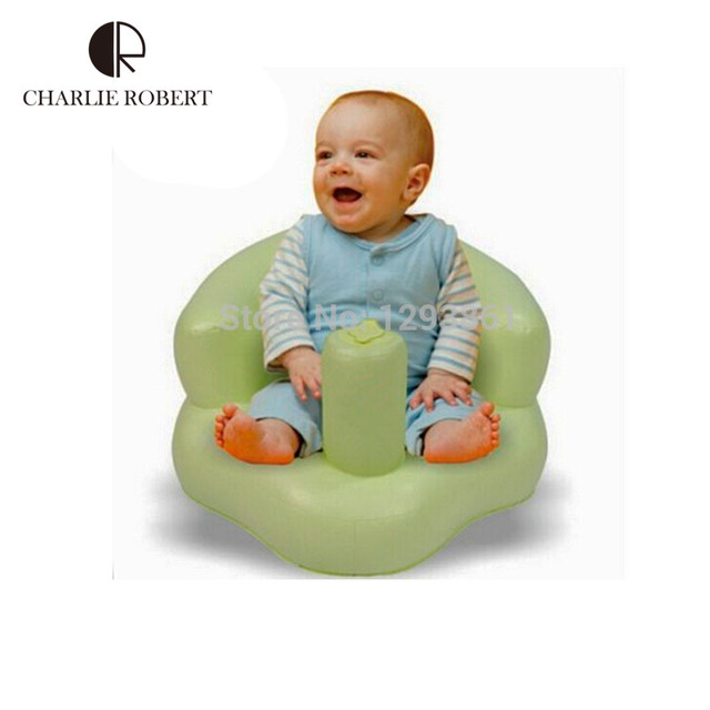 2016 nova marca relaxe inflável do bebê sofá cadeira de alimentação crianças do saco de feijão Training assento de banho cadeira de jantar assento PVC móveis HK408