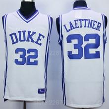 ac961aa930fa Ediwallen Sale Cheap Christian Laettner 32 Duke Blue Devils Jersey Men Team  Blue White Laettner Basketball