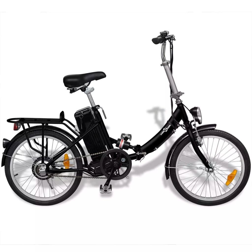 VidaXL High Quality Folding Electric Bike VéLo éLectrique Pliable Et Pile Lithium Ion Alliage D'Aluminium V Brake Toy Sports Toy Sports     - title=