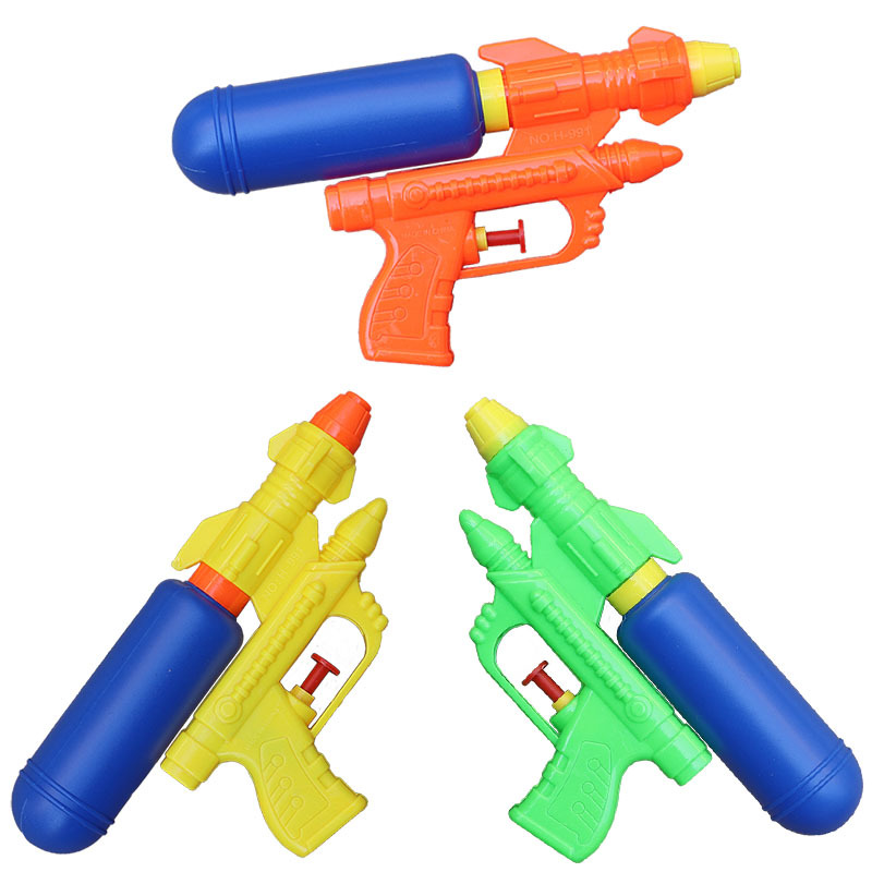 Summer Holiday Kids Water Guns Toys Classic Outdoor Beach Water Pistol Blaster Gun Portable Squirt Gun Toys For Children Games