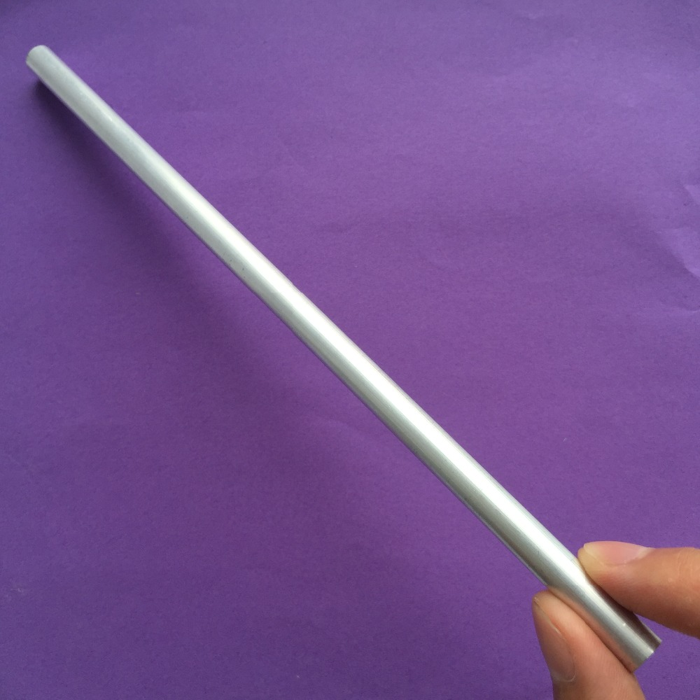 20cm K794Y Aluminum Pipe Out Diameter 8mm Inner Diameter 5mm Hollow Circular Tube For DIY Model Making Tool Parts