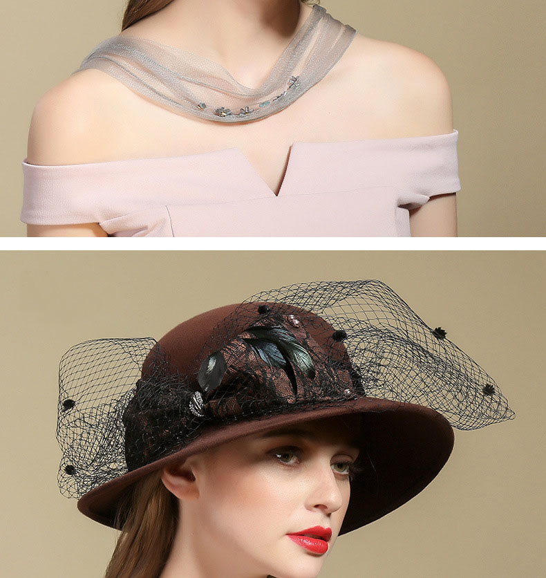 3 fedora hat for woman