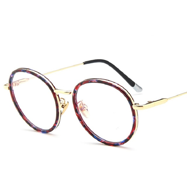 Good Quality Oval Full Frame Optical Plain Mirror Men Women Fashion ...