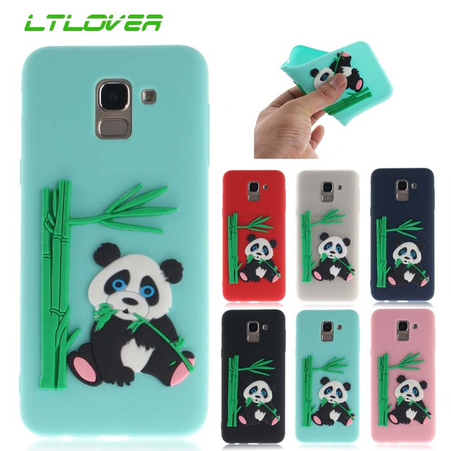 000a922027 3D Paint Cute Panda eating bamboo Soft TPU Silicone Back Cover Case For Samsung  Galaxy J3 J5 J7 2017 J4 J6 J7 J8 2018 Case Cover