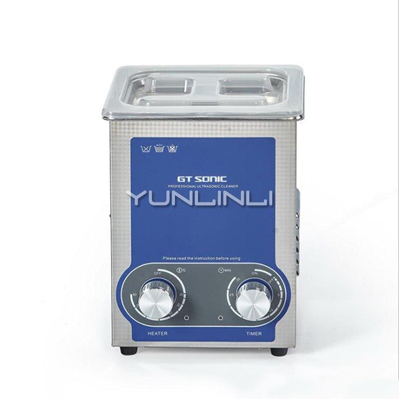 Small Ultrasonic Cleaning Machine Laboratory Instrumentation Test Tube Cleaning Machine Stainkess Steel GTSONIC P2