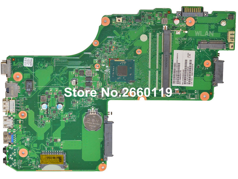 все цены на  laptop motherboard for Toshiba C55 C55T V000325170 DB10MB-6050A2623101-MB-A02 system mainboard fully tested  онлайн