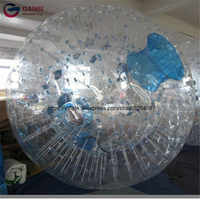 Funny games adult inflatable zorbing ball price ,1.0mm pvc 3m inflatable zorb ball rental