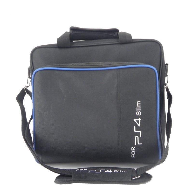 PS4 Slim Game Sytem Bag Canvas Case Protect Shoulder Carry Bag Handbag for PlayStation 4 Slim PS 4 Slim Console