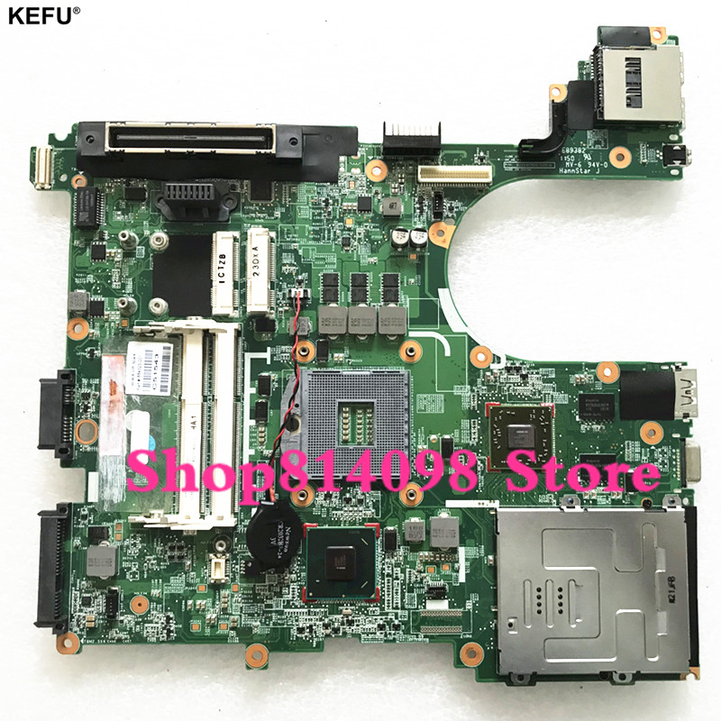 все цены на KEFU 684323-001 MAIN BOARD For HP Elitebook 8560P Laptop Motherboard QM67 DDR3 HD7400M Video Card онлайн