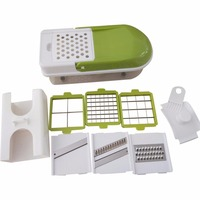 Multifunctional Vegetable Cutter Kitchen Vegetable Slicer Dicer Chopper Practical Salad Making Tool Cooking Helper Stainless