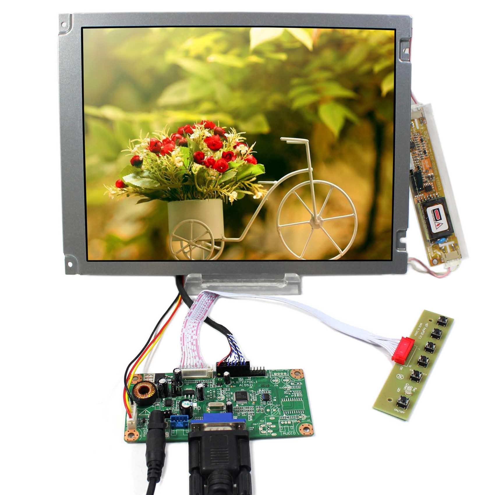 VGA signal input lcd controller board 10.4inch AA104SG04 800x600 LVDS lcd panelVGA signal input lcd controller board 10.4inch AA104SG04 800x600 LVDS lcd panel