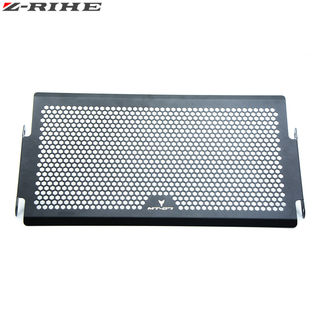 Radiator Protective Cover Grill Guard For Yamaha MT-07 MT07 2014 2015-2016 MT07 Radiator Grille Guards motorcycle radiator grill grille guard screen cover protector tank water black for bmw f800r 2009 2010 2011 2012 2013 2014