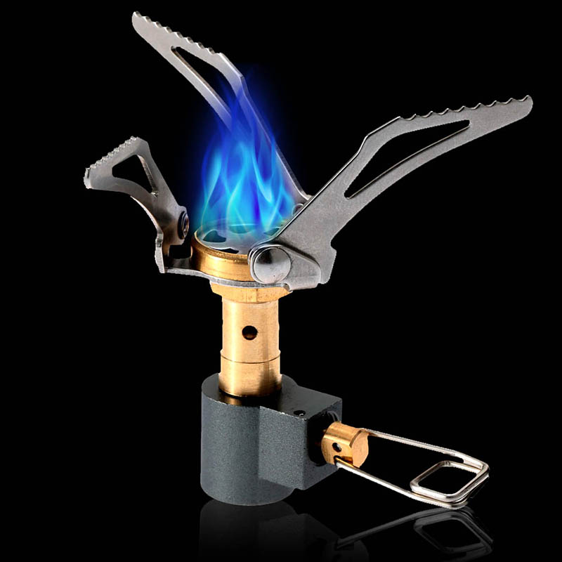 3000W Portable Folding Mini Camping Stove Outdoor Gas Stove Survival Furnace Picnic Cooking Gas Stove
