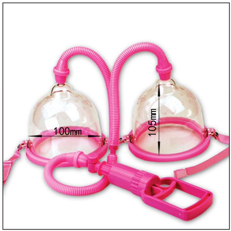 ORISSI Adult toys Manual Breast Pumps(Biger), Chest Enlargement With Twin Cup, Chest Pump, Adult Sex Toys for Women,Sex Products