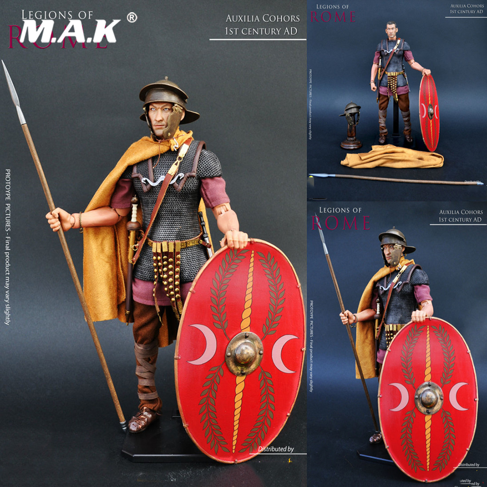 Collection Legions of Roman 1/6 KAUSTIC PLASTIK Ancient Soldiers Roman Warrior KP13 Auxilia Action Figure Model for Fans Gifts polyresin ancient greek roman warrior armor model creative home decration aircraft gift