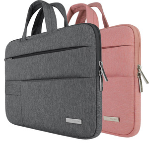 Image 4 - Männer Frauen Tragbare Notebook Handtasche Air Pro 11 12 13 14 15,6 Laptop Tasche/Sleeve Fall Für Dell HP macbook Xiaomi Oberfläche pro 3 4