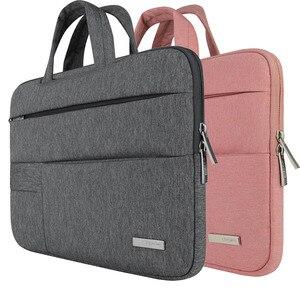 Image 4 - Men Women Portable Notebook Handbag Air Pro 11 12 13 14 15.6 Laptop Bag/Sleeve Case For Dell HP Macbook Xiaomi Surface pro 3 4